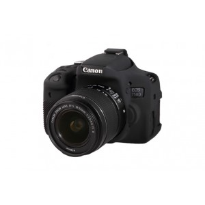 EASYCOVER BODY COVER FOR CANON 750D BLACK