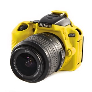 EASYCOVER BODY COVER FOR NIKON D5500 YELLOW