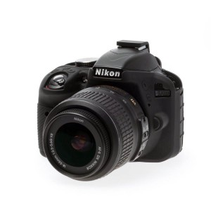 EASYCOVER BODY COVER FOR NIKON D3300 BLACK