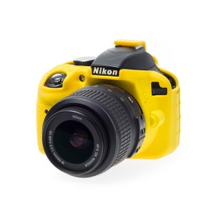EASYCOVER BODY COVER FOR NIKON D3300 YELLOW