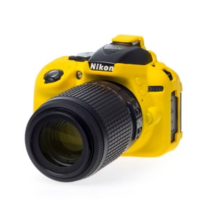 EASYCOVER BODY COVER FOR NIKON D5300 YELLOW